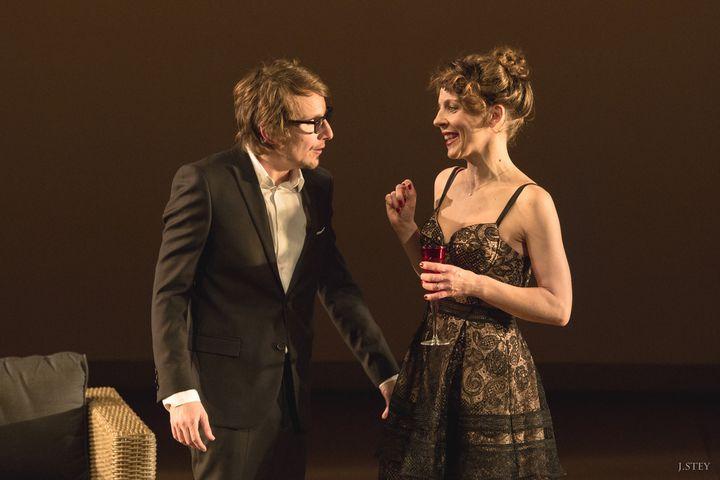 Lorant Deutsch et Caroline Maillard  (J.Stey)