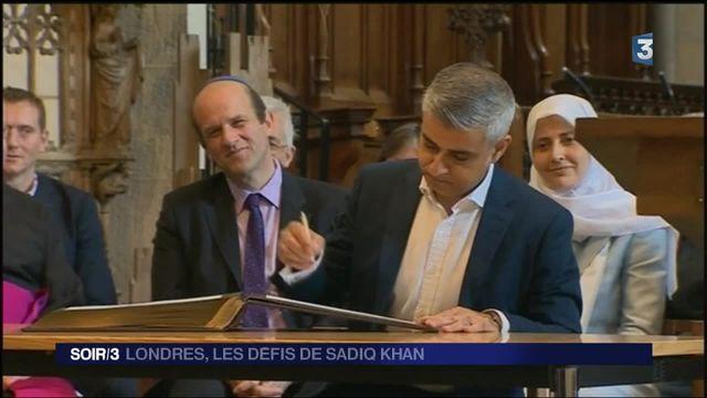 Les défis de Sadiq Khan, le nouveau maire de Londres