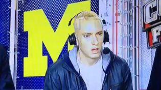Eminem sur ESPN, le 7 septembre 2013  (Saisie écran)