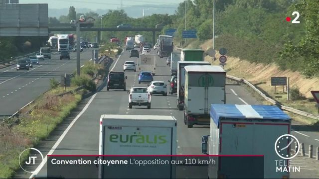 Convention citoyenne: l'opposition aux 110 km/h