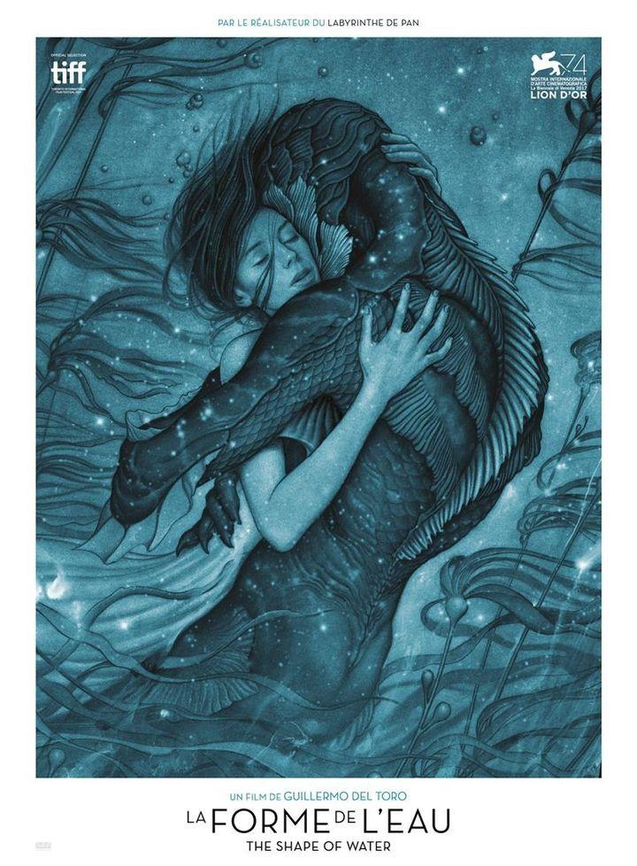 """""""La Forme de l'eau"""" : une des affiches française  (Twentieth Century Fox France)"""