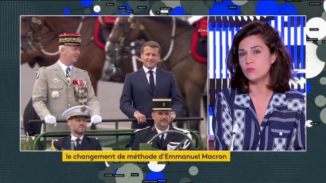 Emmaneul Macron change de méthode sans donner de détails
