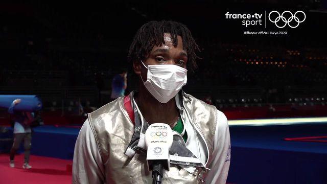 Enzo Lefort revient sur son élimination polémique face au champion olympique italien Daniele Garozzo en quart de finale du fleuret.