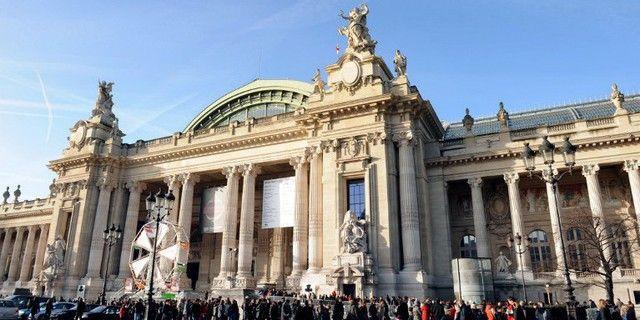 Le Grand Palais, décembre 2011  (Miguel Medina / AFP)