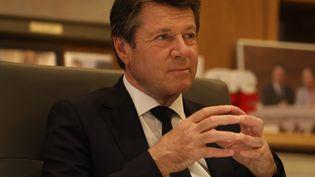 Christian Estrosi, maire de Nice, le 7 mai 2021. (ERIC OTTINO / MAXPPP)