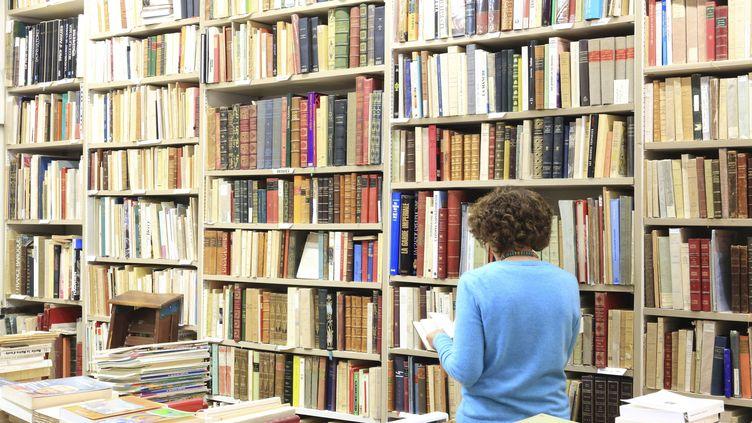 """Hachette (groupe Lagardère), HarperCollins, John Wiley & Sons et Penguin Random House poursuivent Internet Archives pour """"violation du droit d'auteur à grande échelle"""". (MAISANT LUDOVIC / HEMIS.FR / HEMIS.FR)"""