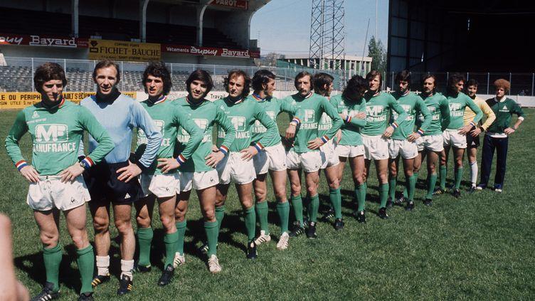 Il y a 40 ans, les Verts jouaient la finale de la Coupe d'Europe des clubs champion face au Bayern Munich. (STAFF / AFP)