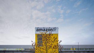 L'entreprise Amazon à Saran (Loiret), le 26 octobre 2018. (GUILLAUME SOUVANT / AFP)