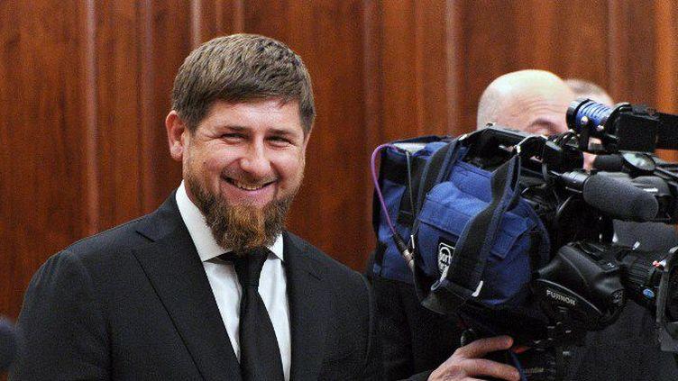 Ramzan Kadyrov avant une rencontre avec Vladimir Poutine au Kremlin, le 10 décembre 2015. (Michael Klimentyev/Sputnik)