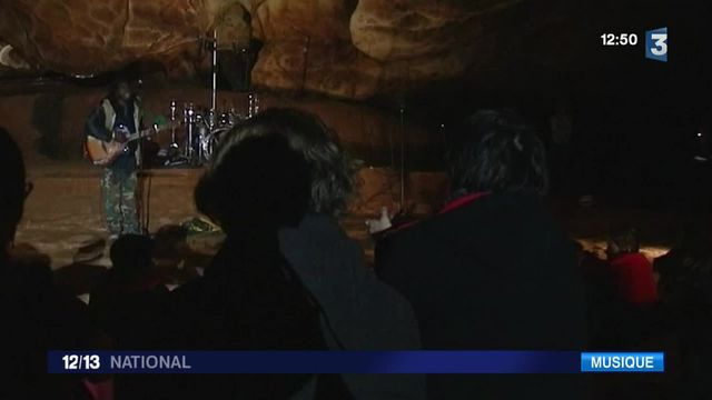 Ardèche : un concert dans une grotten c'est possible