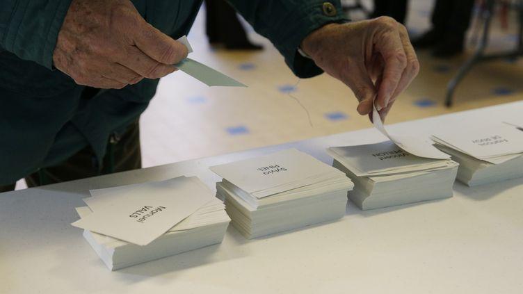 Près de 1,66 million de Français ont voté au premier tour de la primaire de la gauche, selon les chiffres définitifs communiqués par le PS, mercredi 25 janvier 2017. (GEOFFROY VAN DER HASSELT / AFP)
