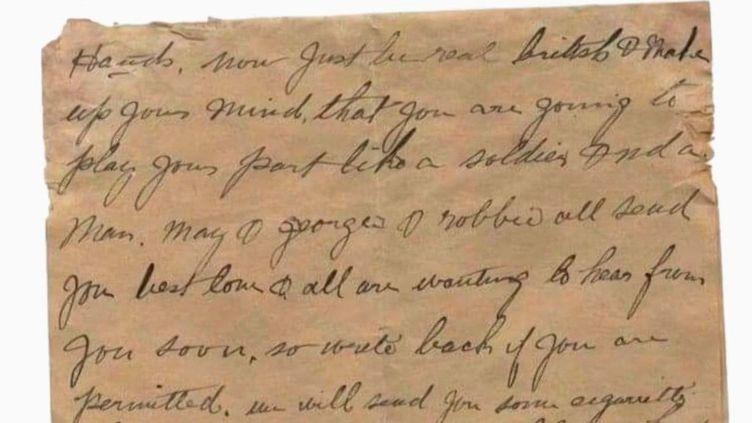 Hauts-de-France : un poilu anglais arraché à l'oubli grâce à des lettres retrouvées (France 3)
