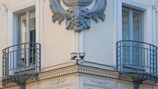 La façade du restaurant Drouant, qui accueille les jurys du Goncourt et le Renaudot chaque année (GILLES TARGAT / GILLES TARGAT)