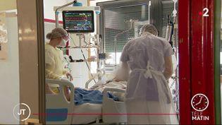 Des soignants à l'hôpital. (France 2)