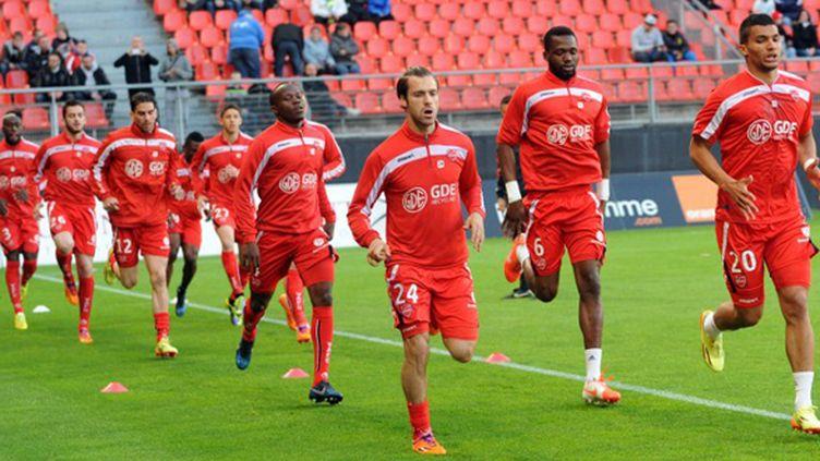Valenciennes passe de  la Ligue 1 au National (FRANCOIS LO PRESTI / AFP)