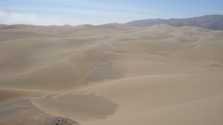 Les dunes de l'Atacama au Chili