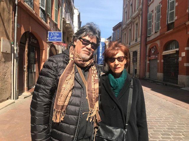 L'écrivain Luis Sepulveda et son éditrice Anne-Marie Métailié. (ANNE-MARIE METAILIE)