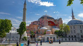 Basilique dans l'empire Byzantin, mosquée sous le règne Ottoman, Sainte-Sophie est finalement devenue un musée en 1934. (FRILET/SIPA)