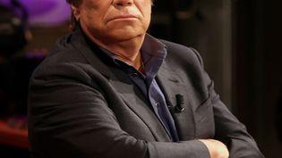 L'homme d'affaires Bernard Tapie sur le plateau de France 5, le 17 janvier 2014. (MAXPPP)