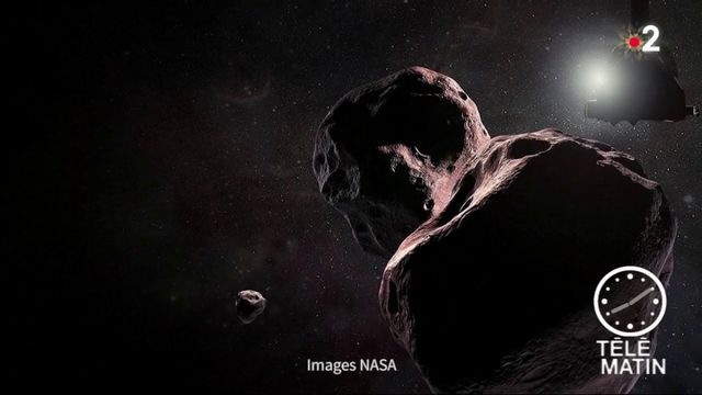 Espace : la sonde New Horizon a survolé Ultima Thule