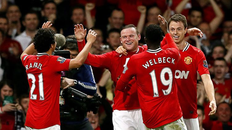 Rooney toujours aussi efficace (KERIM OKTEN / MAXPPP)
