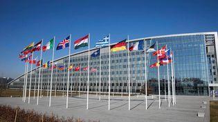 Le siège de l'Otan à Bruxelles (Belgique), le 20 mars 2018. (HANDOUT / ANADOLU AGENCY)