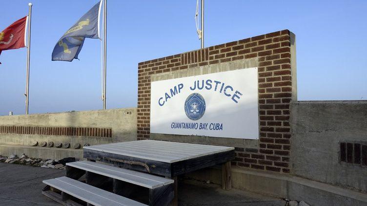 Le centre de détention militaire de haute sécurité situé sur la base navale américaine deGuantenamo, dans le sud-est de Cuba, le 7 septembre 2021. (PAUL HANDLEY / AFP)