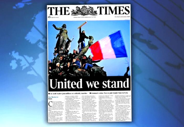 La photo a fait la Une du Times  (France 3 culturebox)