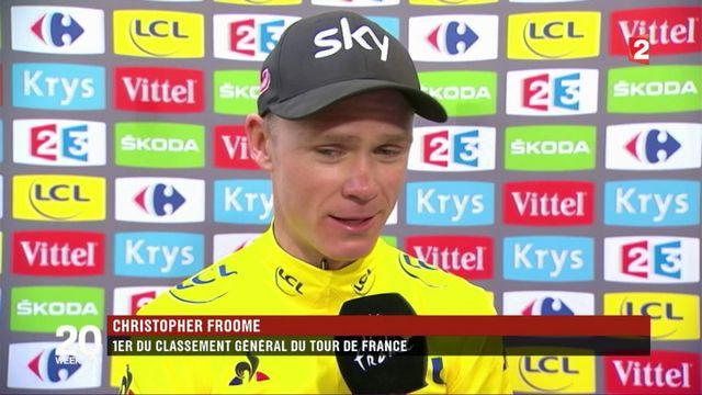 Tour de France : Christopher Froome s'apprête à remporter la compétition