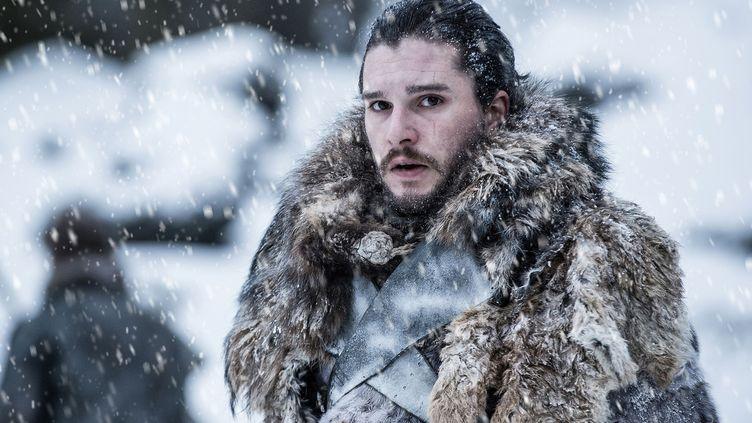 """Kit Harington dans saison 7 de la série """"Game of Thrones"""". (HBO)"""