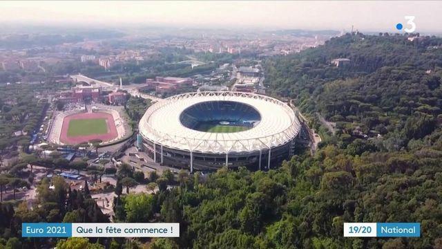 Euro 2021 : premier coup de sifflet à Rome