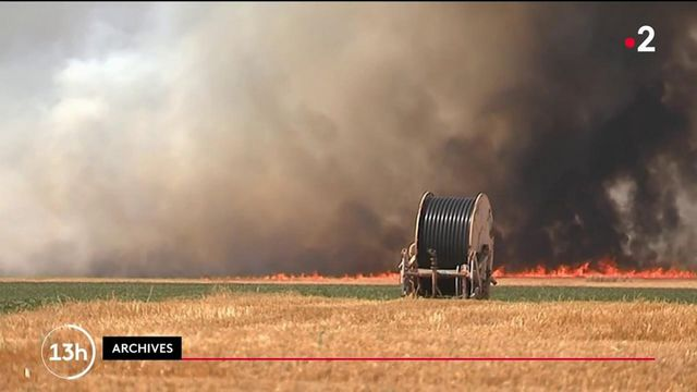 Deux-Sèvres : menace d'incendies avec le début des moissons