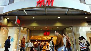 Magasin H&M à Francfort (Allemagne). (FRANK RUMPENHORST / DPA)