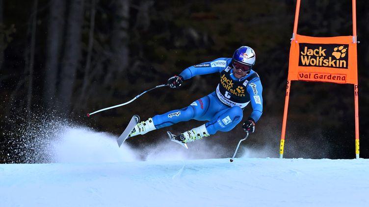 Souffrant du genou depuis Val Gardena, Svindal ne participera pas à la descente de Santa Caterina. (GIUSEPPE CACACE / AFP)