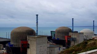 Les deux réacteurs de la centrale nucléaire de Flamanville (photo d'illustration). (ANTHONY RAIMBAULT / RADIOFRANCE)