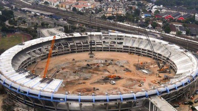 Le mythique stade Maracana en plein travaux en octobre 2011