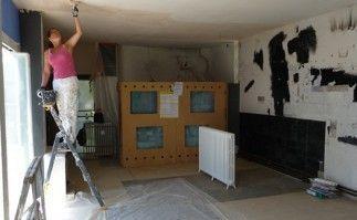 Les travaux de restauration de la villa E 1027  (Médiéval-AFDP)