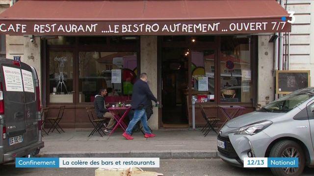Reconfinement : les restaurateurs en colère