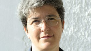 Brigitte Gothière, porte-parole et directrice de l'association L214, le 11 août 2019 à l'Île de Ré. (NICOLAS LANDEMARD / LE PICTORIUM / MAXPPP)