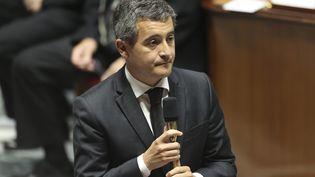 Le ministre de l'Intérieur Gérald Darmanin à l'Assemblée nationale le 22 septembre 2020. (S?BASTIEN MUYLAERT / MAXPPP)