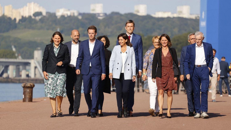 Anne Hidalgo officialise sa candidature à Rouen
