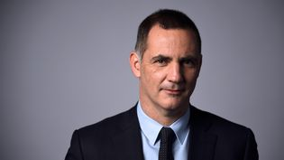 Le président de l'exécutif corse, Gilles Simeoni, le 24 janvier 2018 à Paris. (ERIC FEFERBERG / AFP)