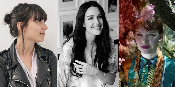 Julie Paskal, Esther Louise Dorhout Mees (@Liselore Chevalier)et Liselore Frowjin (@Filep Motwary © Villa Noailles)
