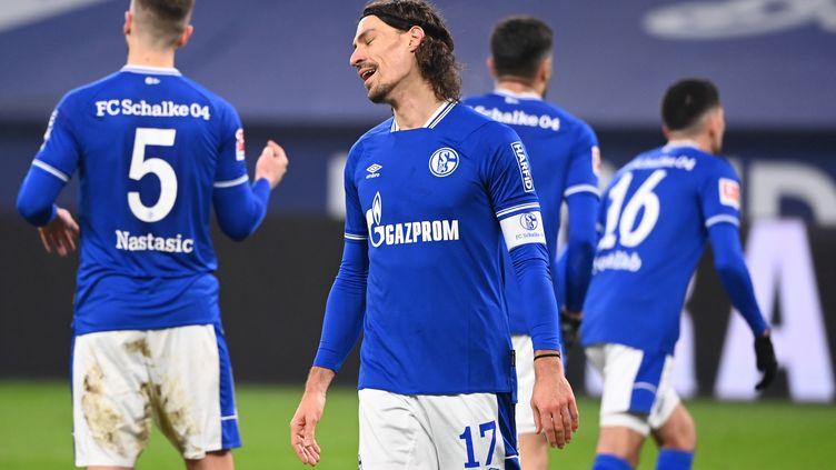 Le capitaine français du club, Benjamin Stambouli, en janvier 2021 (INA FASSBENDER / AFP)