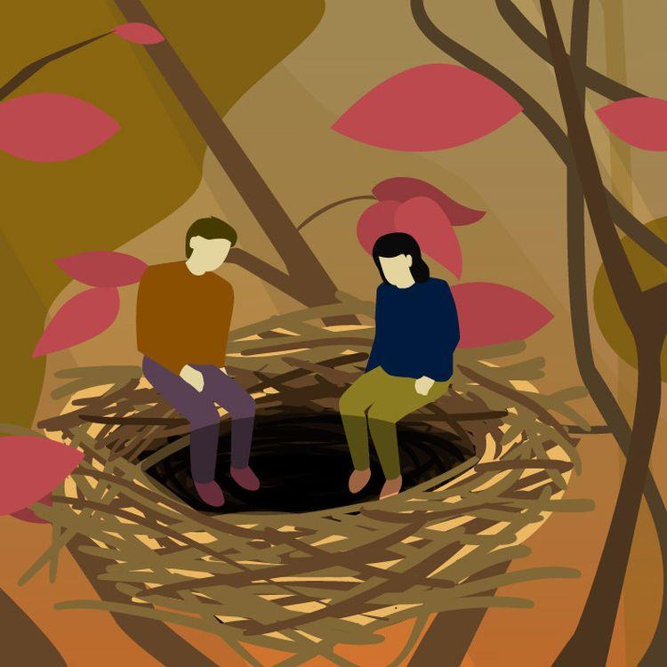 Lorsque les enfants quittent le domicile familial, certains parents sont confrontés à un sentiment de vide et d'inutilité. (BAPTISTE BOYER/FRANCEINFO)