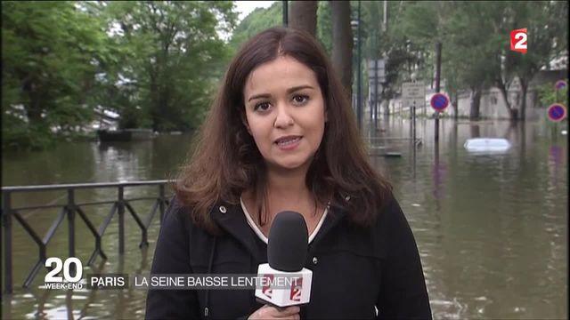Paris : la Seine amorce lentement sa décrue