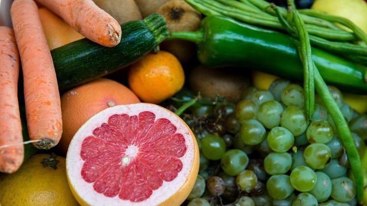 D'après une nouvelle étude scientifique,les plus gros consommateurs de produitsbio ont un risque réduit d'avoir un cancer. (PASCAL BONNIERE / MAXPPP)