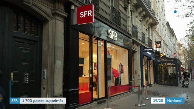 Plan social : l'opérateur SFR envisage de supprimer 1700 postes
