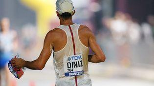 Yohann Diniz lors des Mondiaux de Doha, le 28 septembre 2019. (PHILIPPE MILLEREAU / KMSP / AFP)