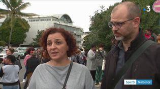 Chérifa Linossier et son avocat (France 3)